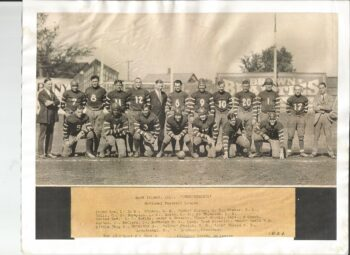 1924 Rock Island Independents team photo
