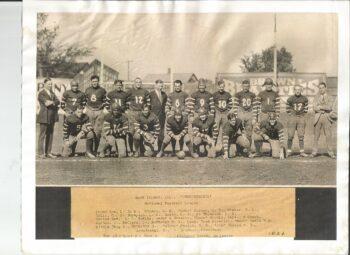 1924 Rock Island Independents team photo