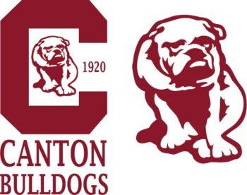 logo for Canton Bulldogs from 1920