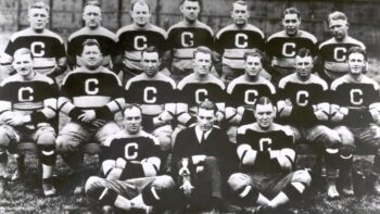 Canton Bulldogs team photo from 1922 to 1923