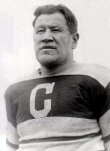 Jim Thorpe of the Canton Bulldogs
