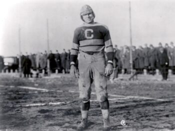Link Lyman player for the Canton Bulldogs