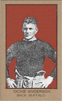 Ockie Anderson Buffalo All-Americans player 1921