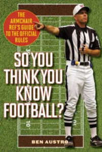 Book cover of So You Think You Know Football? by Ben Austro