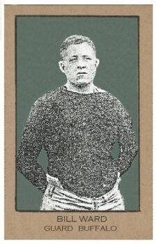 Bill Ward of Buffalo All-Americans from 1921