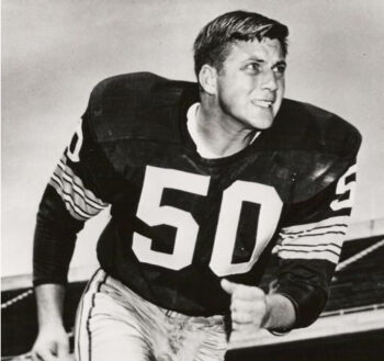 Bill Curry in Green Bay Packers uniform