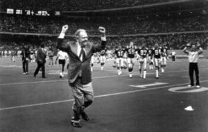"""Owner of the New Orleans Saints doing the """"Benson Boogie"""""""