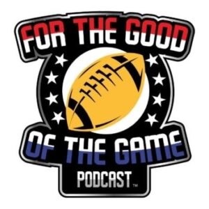 For the good of the game podcast cover art